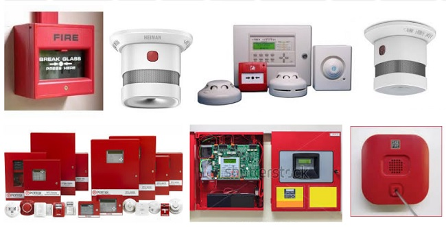 alarmas anti incendios